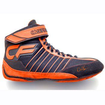 Cagefighter Revolution Combat Pro 1 Orange Wrestling Shoes