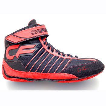 Cagefighter Revolution Combat Pro 1 Red Wrestling Shoes