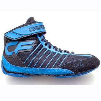 Cagefighter Revolution Combat Pro 1 Blue Wrestling Shoes