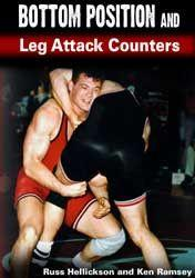 Bottom Position And Leg Attack Counters (DVD)