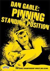 Dan Gable:  Pinning from the Standing Position (DVD)