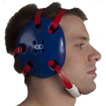 Cliff Keen Signature Headgear Deep Ear Cup Royal Blue Red