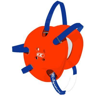 Cliff Keen Signature Headgear Orange Royal Blue