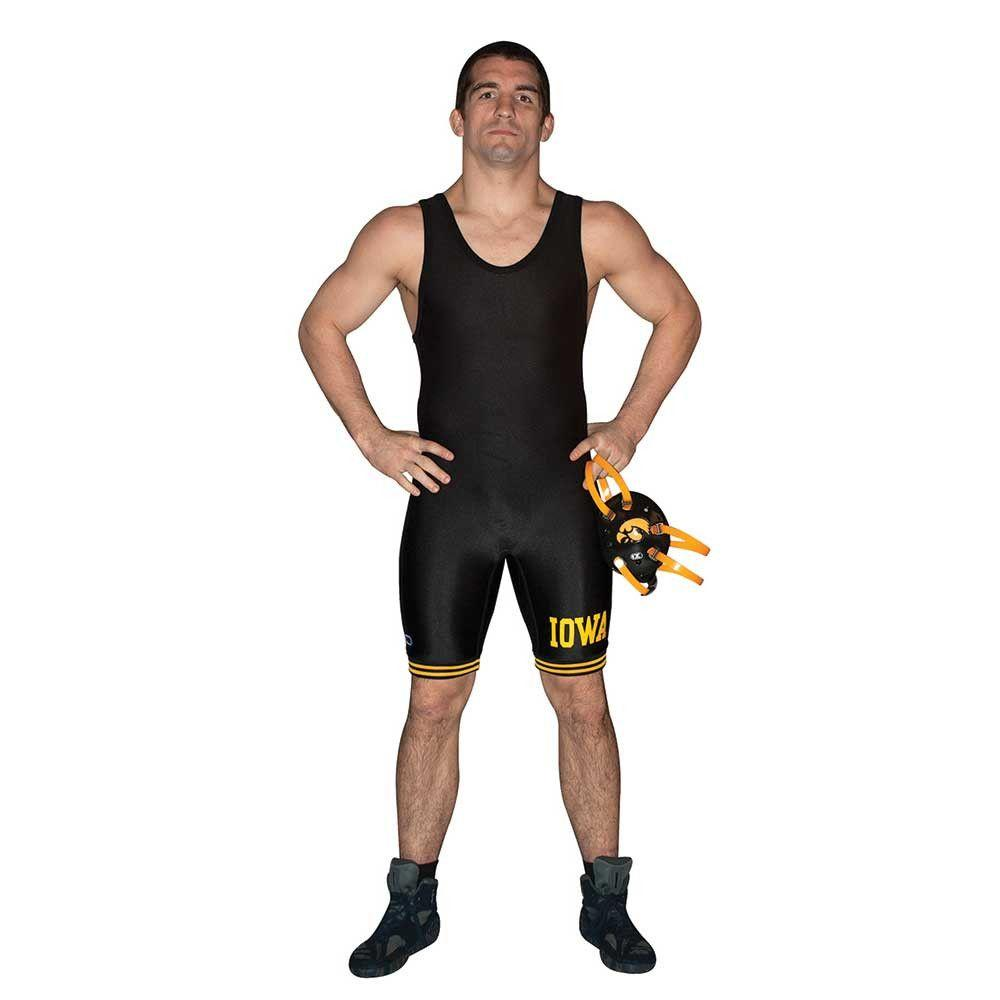 Cliff Keen Authentic Licensed Iowa Singlet