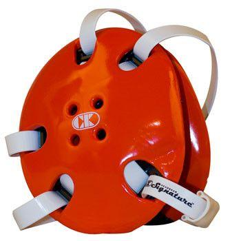 Cliff Keen Signature Headgear Orange White