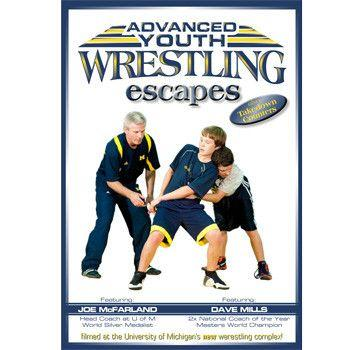 Dave Mills Advanced Youth Wrestling - Escapes (DVD)