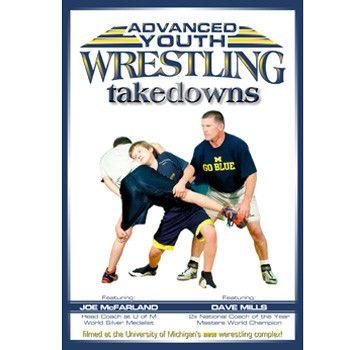 Dave Mills Advanced Youth Wrestling - Takedowns (DVD)