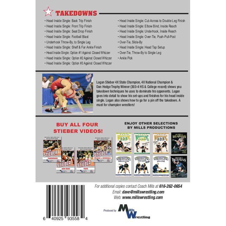 Logan Stieber - Takedowns DVD