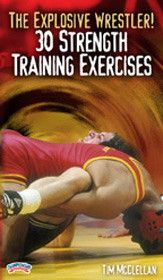 The Explosive Wrestler! 30 Strength Training Exercises (DVD)
