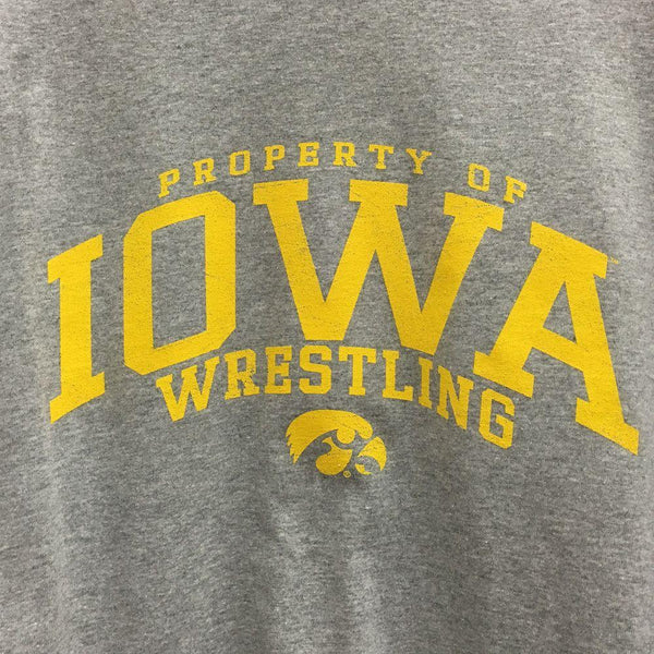 J. America University of Iowa Long Sleeve T Shirt