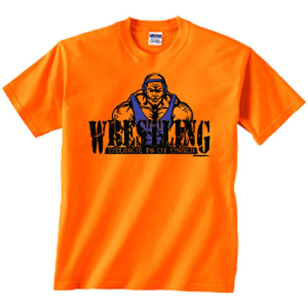 Image Sport Welcome to My World Orange T Shirt