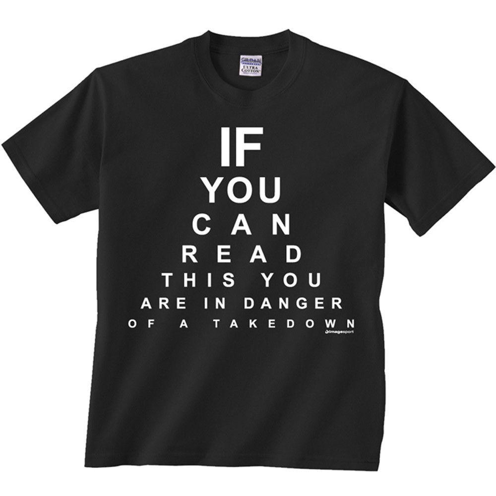 Image Sport Eye Chart T Shirt Black