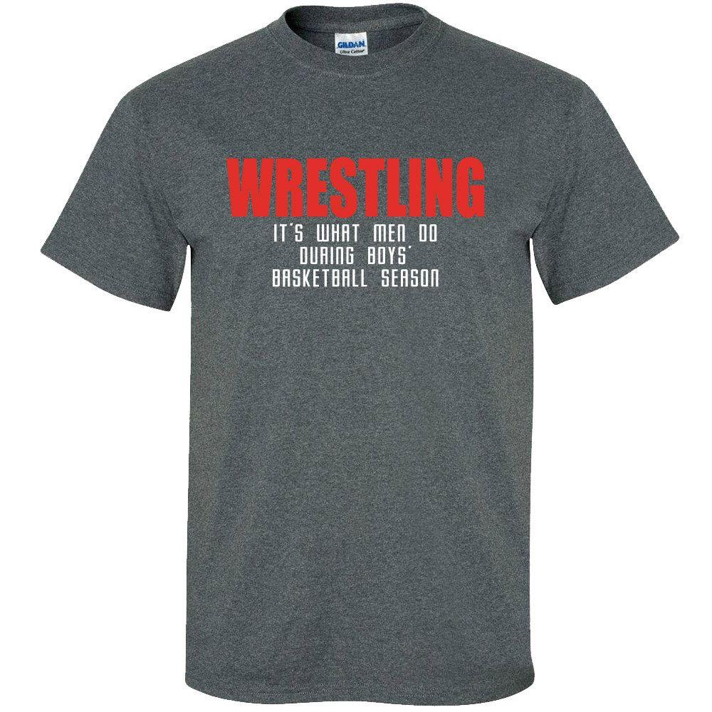 Image Sport Wresting What Men Do T-Shirt