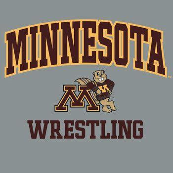 J America University of Minnesota Wrestling Long Sleeve T Shirt