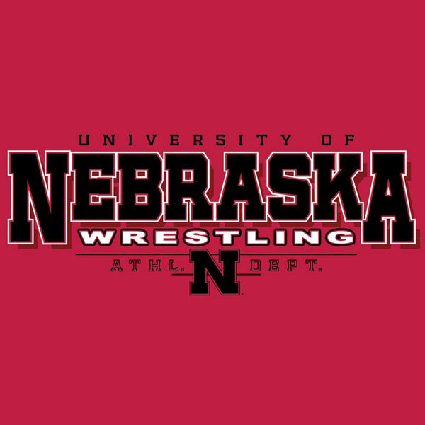 J America Nebraska T Shirt Red