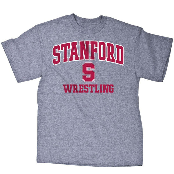Wrestling shirts nike adidas under armour asics for Stanford long sleeve t shirt