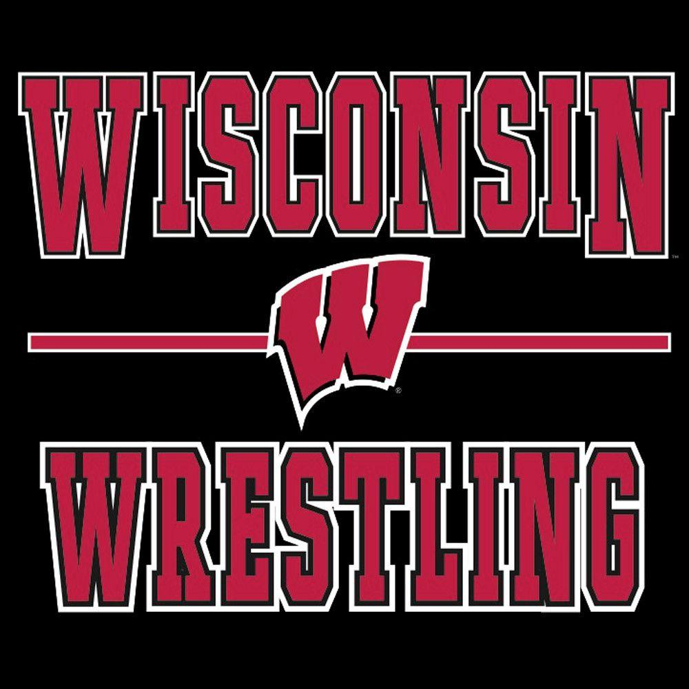 J. America University of Wisconsin Wrestling T Shirt