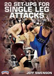 Jeff Swenson - 20 Set-Ups for Single Leg Attacks (DVD)