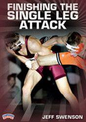 Jeff Swenson - Finishing the Single Leg Attack (DVD)