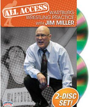 All Access Wartburg Wrestling Practice With Jim Miller (DVD)