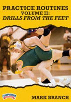 Mark Branch: Practice Routines Volume II:  Drills from the Feet (DVD)