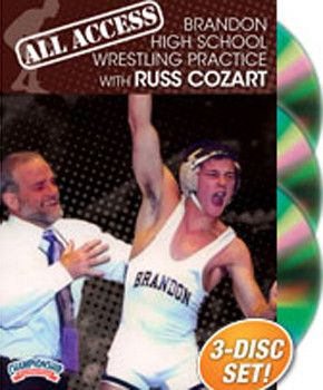 Russ Cozart: All Access Brandon H.S. Wrestling Practice (DVD)