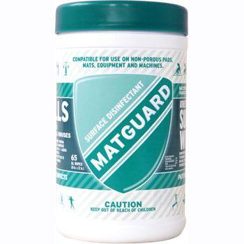 Matguard Surface Wipes