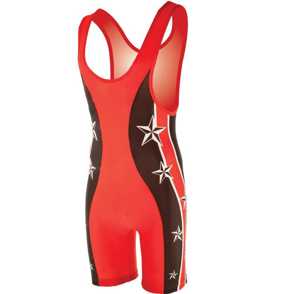 Matman Bejing High Cut Wrestling Singlet
