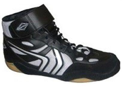 Matman G5 Revenge Retired Black Silver Wrestling Shoes