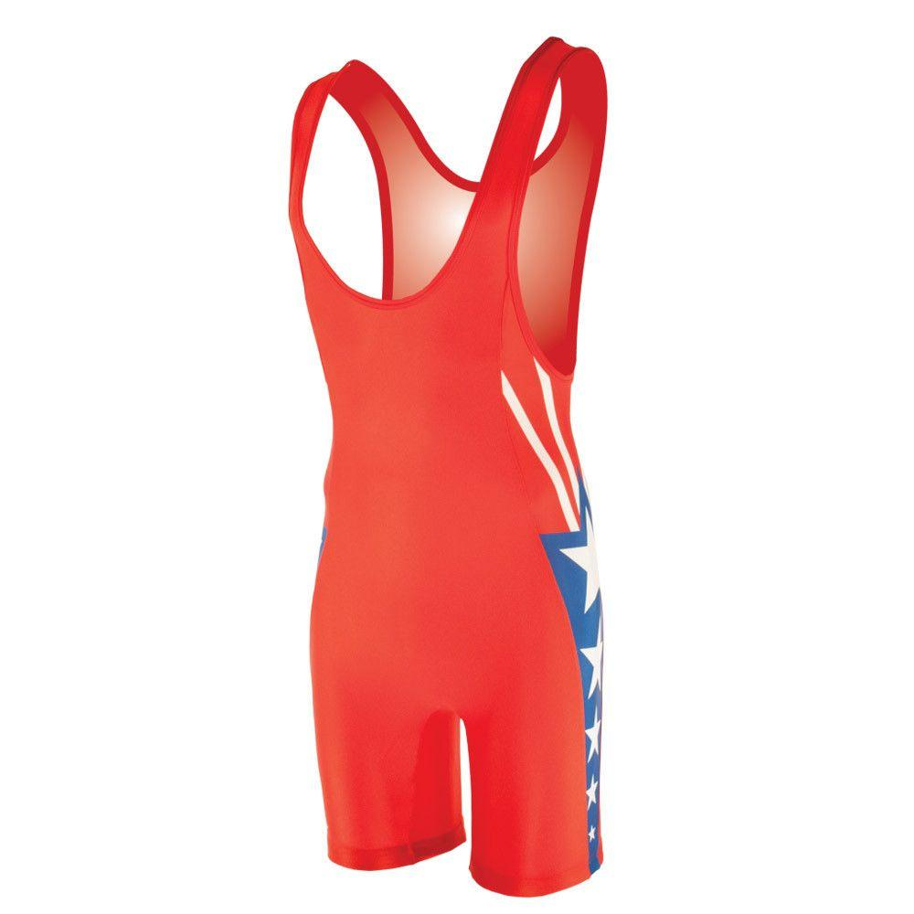 Matman Sydney Wrestling Singlet Red