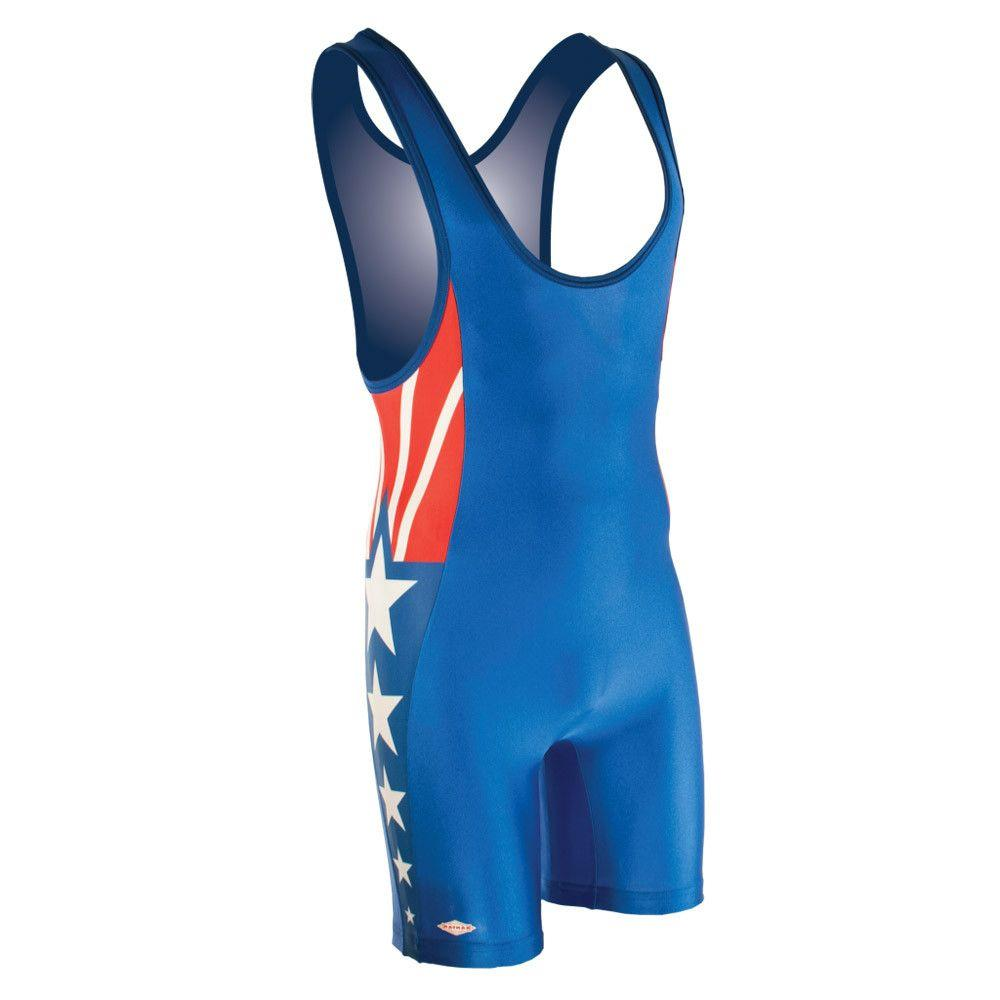 Matman Sydney Wrestling Singlet Royal Blue