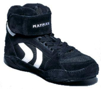 Matman Ultra Retired Black Wrestling Shoes