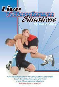 Live Takedown Situations - Dave Mills (DVD)