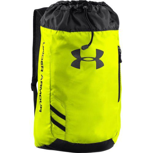 Neon Yellow/Black Under Armour Trance SackPack