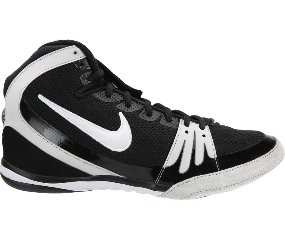 Black And White Freek Wrestling Shoes