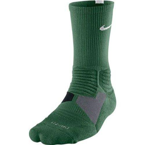 Nike Hyper Elite Crew Socks Gorge Green White