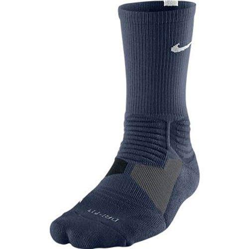 Nike Hyper Elite Crew Socks Mid Navy White