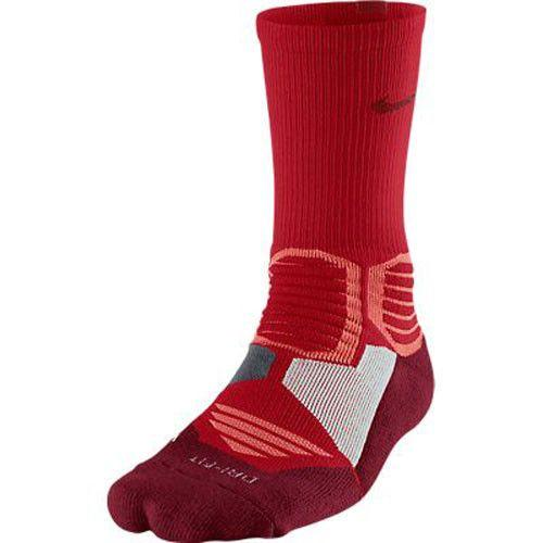 Nike Hyper Elite Crew Socks Univ Red Team Red