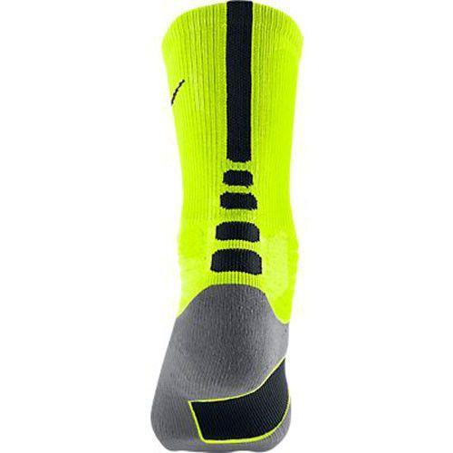 Nike Hyper Elite Crew Socks Volt Black