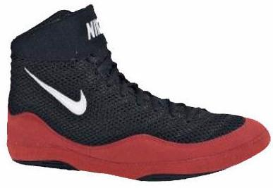 Nike Inflict 3 Red Black Wrestling Shoes