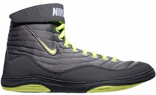 Nike Inflict 3 Cool Grey Volt Dark Grey Anthracite Wrestling Shoes