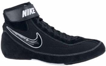 Nike Speedsweep VII Black Black White Wrestling Shoes
