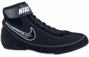 Nike Speedsweep VII Youth Black Black White Wrestling Shoes