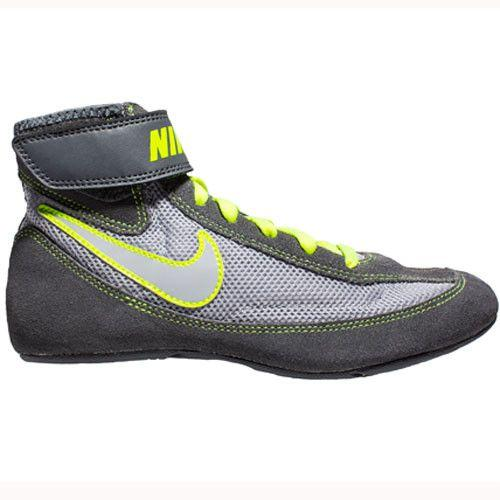 Nike Speedsweep VII Youth Dk Grey Volt Cool Grey Wrestling Shoes
