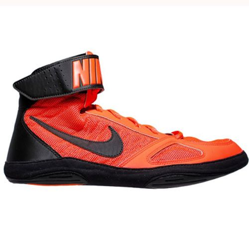 Nike Takedown 4 Total Crimson Black Black Wrestling Shoes