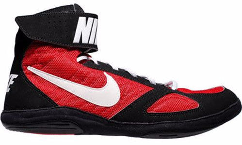 Nike Takedown 4 Black White Gym Red Wrestling Shoes