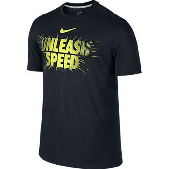 Nike Unleash Speed Black T Shirt