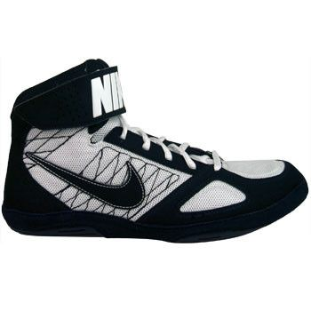 Nike Takedown 4 Black Black White Wrestling Shoes