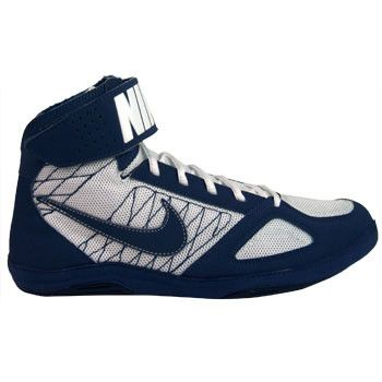 Nike Takedown 4 Navy White Navy Wrestling Shoes