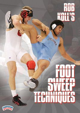 Rob Koll - Foot Sweep Techniques (DVD)